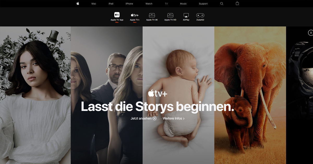 Webdesign Trends 2020 Dark Mode