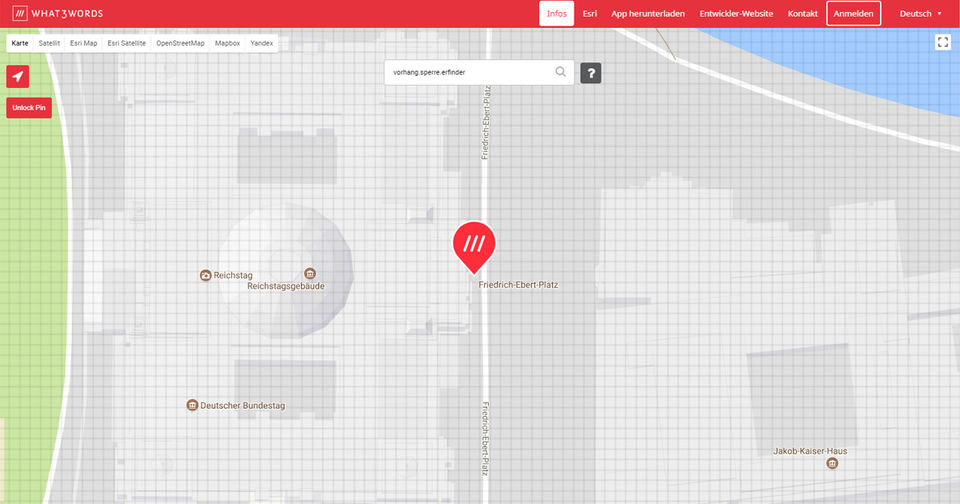 Präzisere Navigation mit what3words