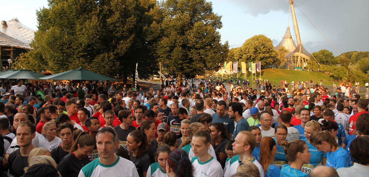 B2Run 2018 vor dem Start